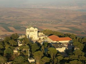The Church of the Transfiguration on Mt. Tabor