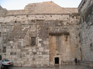Entrance to Jesus' manger