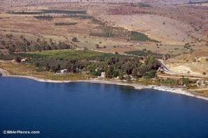 Tabgha-aerial-from-south,-tbs115070011-bibleplaces