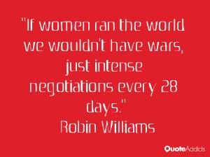If women